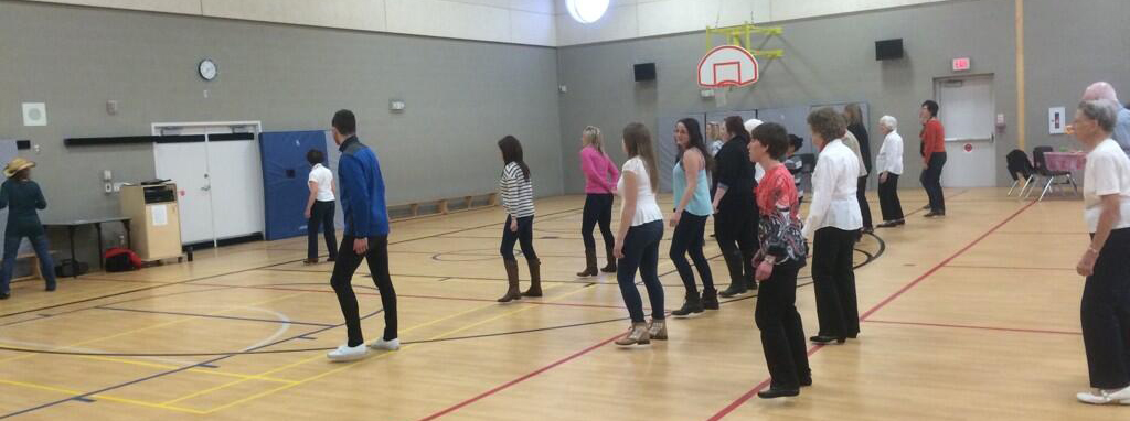 SPCA hoedown with line dancing